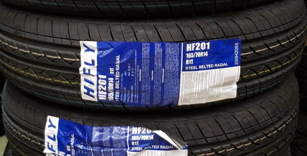 "1 NEW 165/70R14 81T HIfly HF201 14"" tyre brand new on sale"