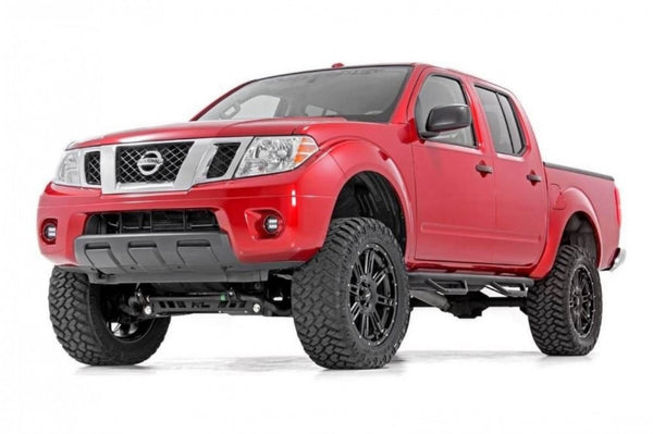ON SALE NOW Nissan Navara D40 Nerf Steps full cab length
