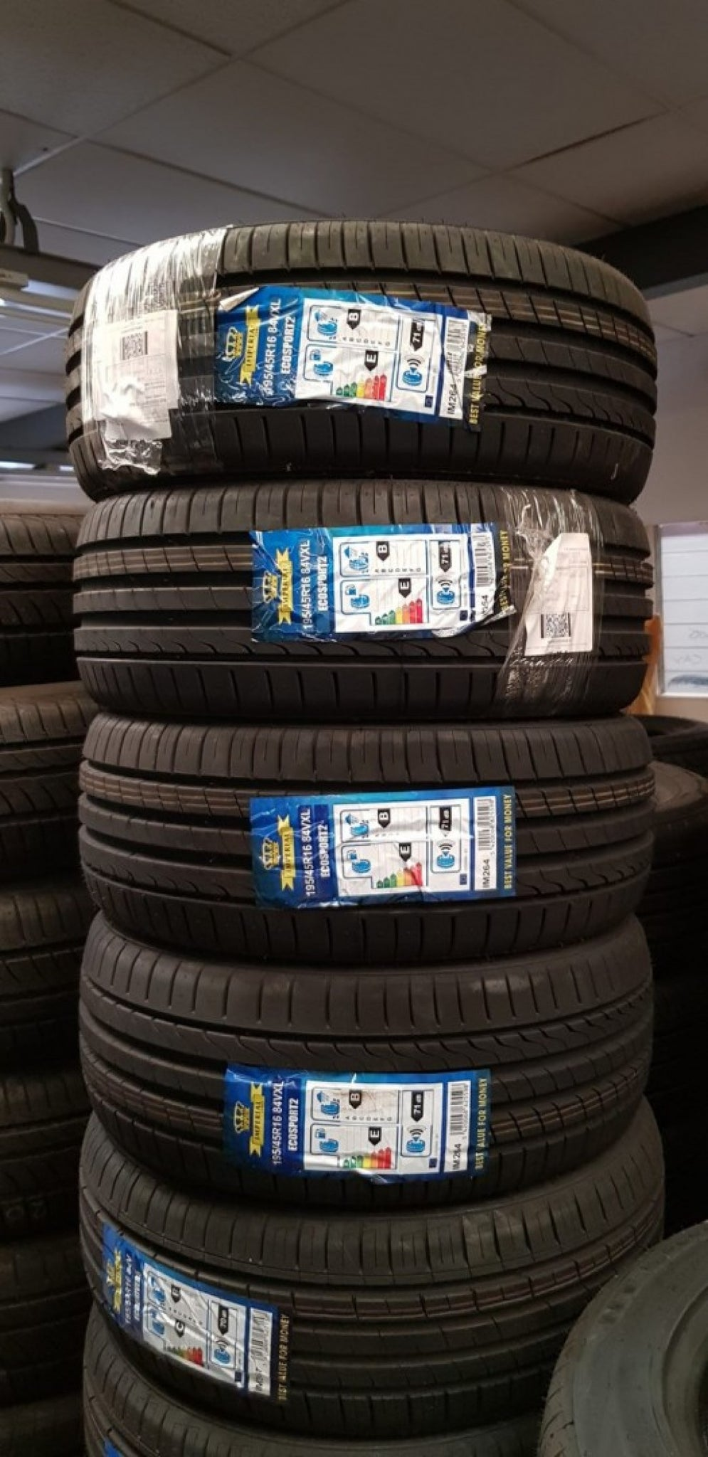 4 X 195/45R16 84V XL IMPERIAL ECOSPORT 2 Brand New tyres on sale now 4 new 16""