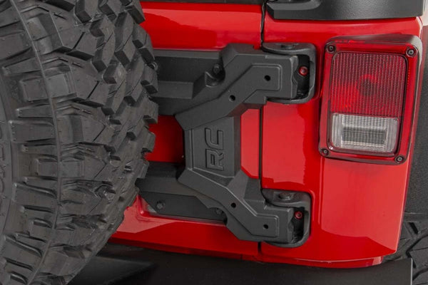 HD HINGED SPARE TIRE CARRIER KIT 07-18 JEEP JK Rough Country USA 10523