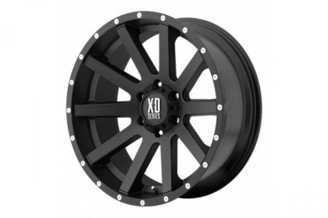 XD Heist 20x9 6/114.3 30p Full Satin Black for Nissan NEW NP300 & D40