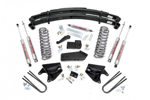 "Rough Country 4"" FORD SUSPENSION LIFTKIT 80-96 F150 series Pickup truck"