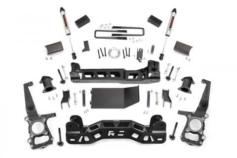 4in Ford Suspension Lift Kit | Strut Spacers (11-14 F-150 4wd)