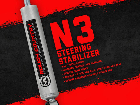 STEERING STABILIZER 8731730  Jeep TJ, WJ, YJ, ZJ, XJ, MJ Chev GMC Tough N3 shock