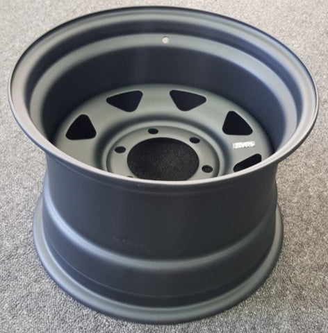 CLEARANCE STOCK TMX Steel Wheels 15x10 -20 6/139.7 great for Hilux Surf etc