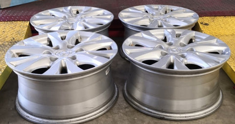 17x8 ET 55p 6/139.7 Mazda BT50 will also fit Ford Ranger nice mags cheap