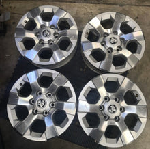 "Load image into Gallery viewer, 17x7 Et 33p 6/139.7 Holden Colorado fits DMAX cheap set of 17"" secondhand mags"