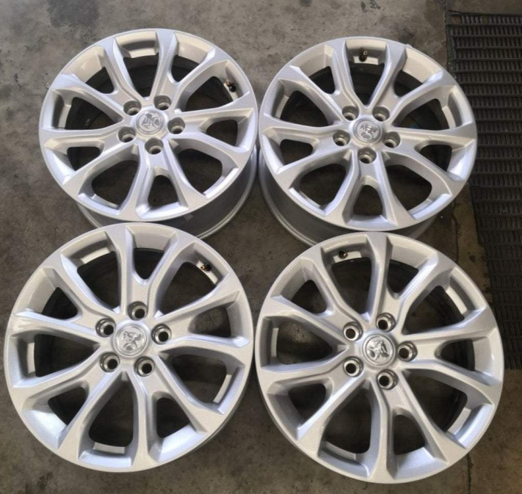 4 as new Holden 17x7 ZB Commodore 41p 5/115 5/114.3 70.3mm centerbore