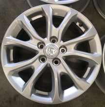 Load image into Gallery viewer, 4 as new Holden 17x7 ZB Commodore 41p 5/115 5/114.3 70.3mm centerbore