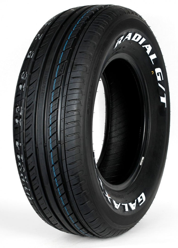 215/70R14 103H Galaxy R1 Radial G/T Tyres x 2 with White Lettering