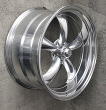 Load image into Gallery viewer, American Racing Torq Thrust II 22x9 15p & 22x11 18p 5/127 Polished