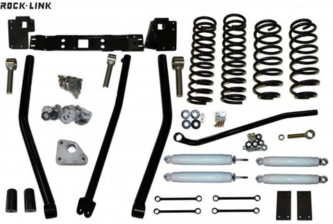 "IRONROCK 13324 WJ JEEP 4"" ROCK-LINK LIFT KIT 4inch Iron Rock liftkit USA"