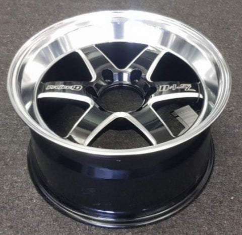 Lenso TDU 18x9.5 6/139.7 25p Gloss Black Milled Polished