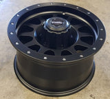 Brutal 17x8 5/150 0p front -50 offset rears great Landcruiser