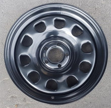 Load image into Gallery viewer, Dynamic D Window Steel wheels 17x8 5/114.3 10p Black set of x 4