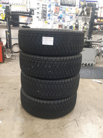 "225/60R18 100Q Bridgestone Blizzak DM-Z3 4x8mm cheap 18"" snow tyres"