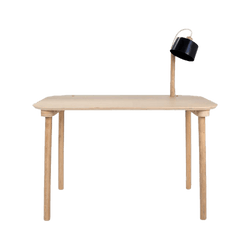 Dizy Design - Desk & Lamp by Camille black - Bureau & Lampe by Camille noir - Bureau & Lampen by Camille zwart