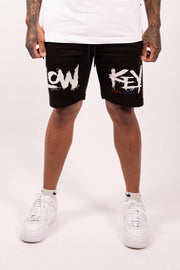 Lowkey OG Ghost Town Shorts - Black - Lowkey Down Under Underground Streetwear Clothing Lifestyle Melbourne