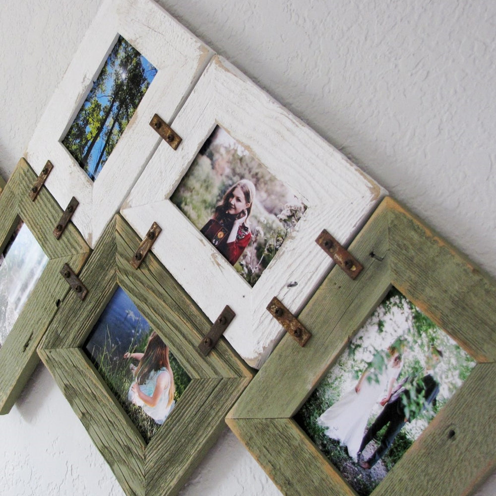 5 X 7 DIY Rustic Wall Collage Picture Frames