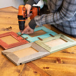 8 X 10 DIY Rustic Wall Collage Picture Frames