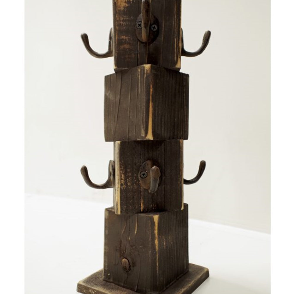 8 Mug Reclaimed Wood Mug Tree