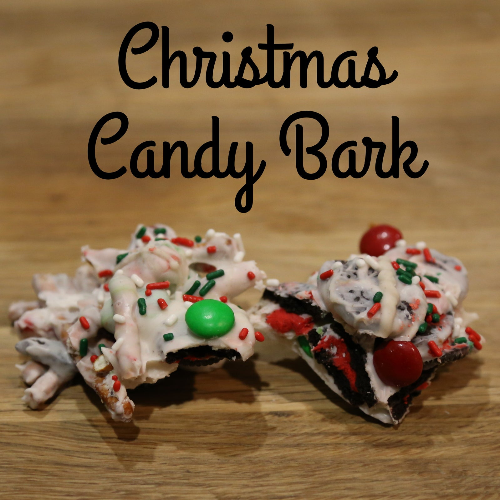 Christmas Candy Bark from Smocked Auctions Aunt Ana #12DaysOfChristmasCookies