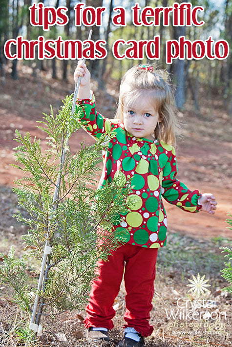 Tips for Christmas Card Photo Sessions