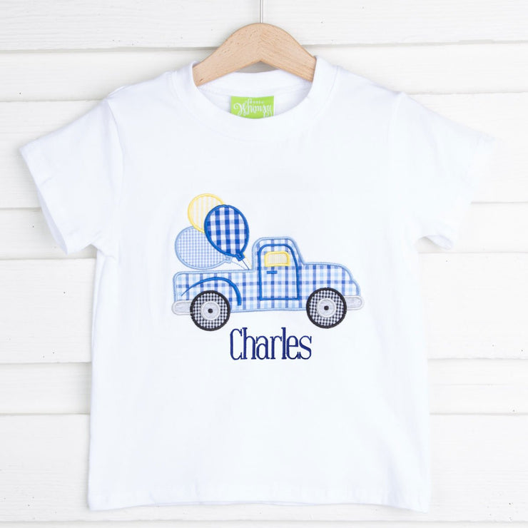 Birthday Truck Short Sleeve Shirt