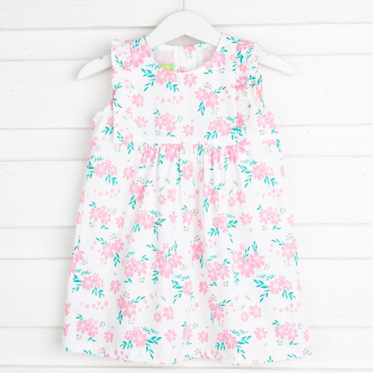 Pink Spray Floral Kate Dress