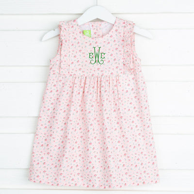 Melon Ditzy Floral Kate Dress