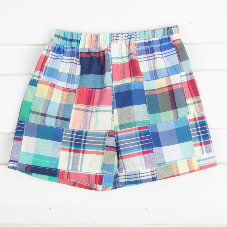 Deep Sea Madras Shorts