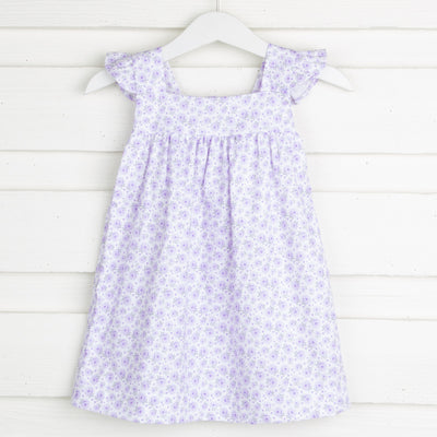 Purple Floral Amy Dress