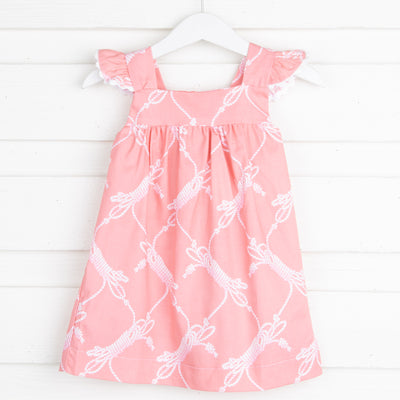 Coral Rope Amy Dress