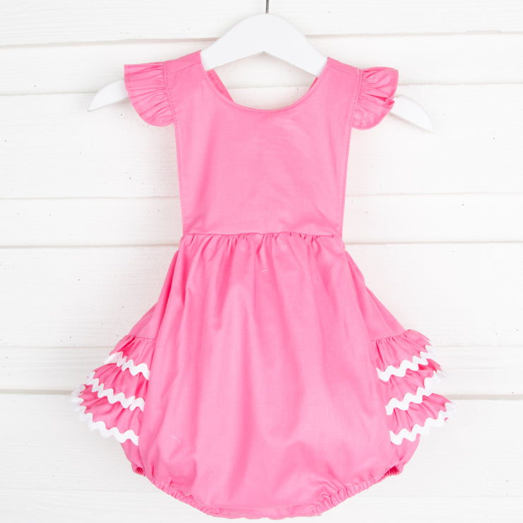 Carnation Pink Ruffle Bubble