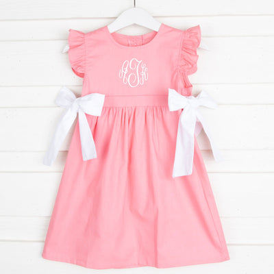 Solid Pink Avery Dress