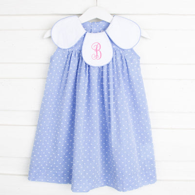 Chambray Tulip Dress