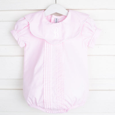 Pleated Pink Scallop Bubble
