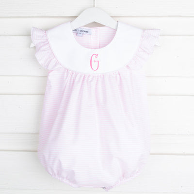 Annie Bubble Pink Stripe