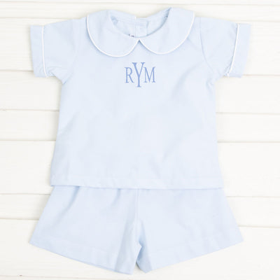 Blue Boy Short Set