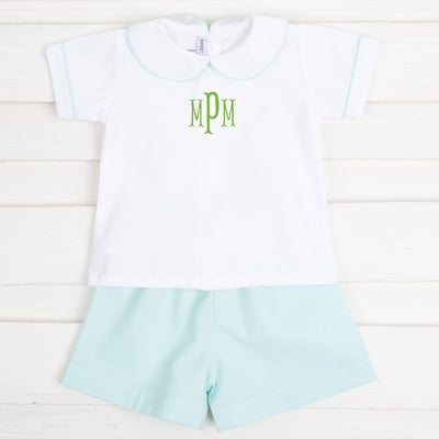 Mint Boy Short Set