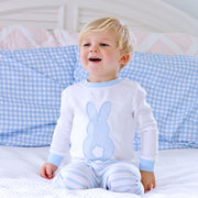 Light Blue Stripe Bunny Loungewear