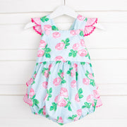 Vintage Blooms Ruffle Bubble
