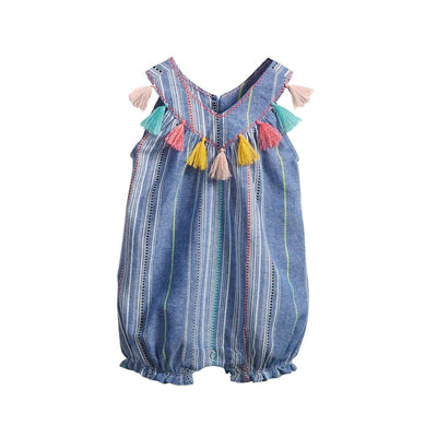 Chambray Tassel Bubble