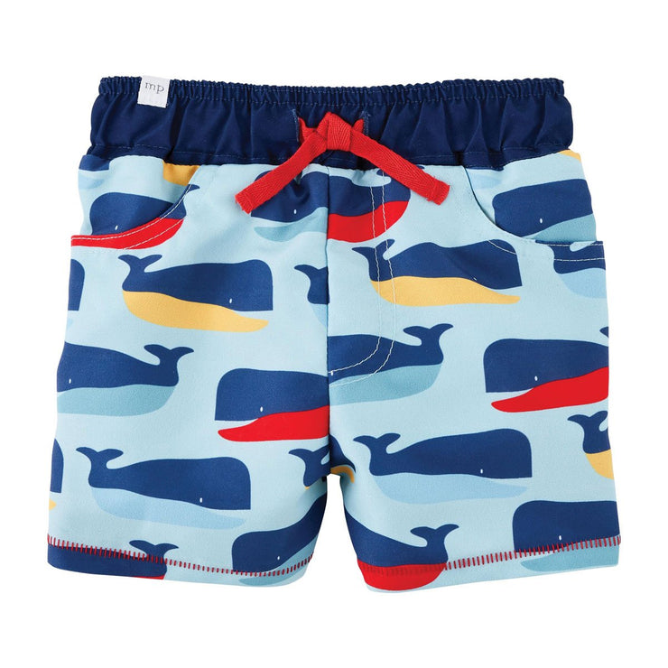 Swim Trunks Whale