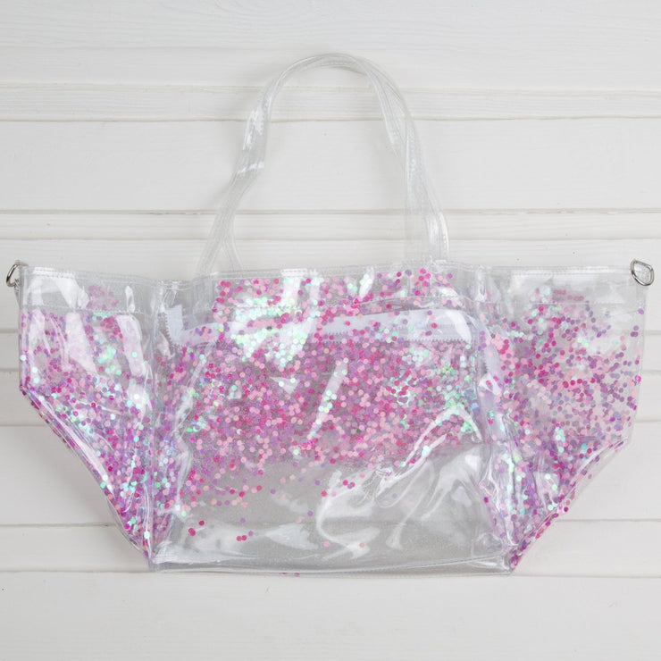 Jelly Confetti Beach Bag