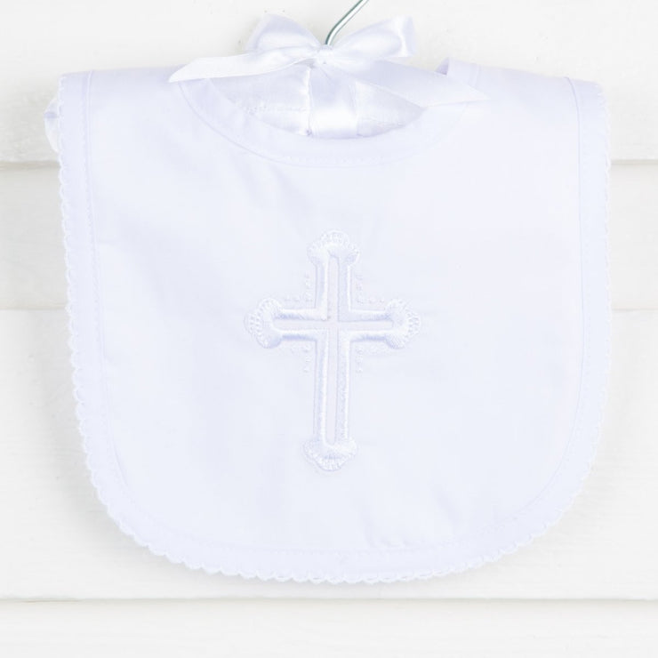 Christening Bib Boy