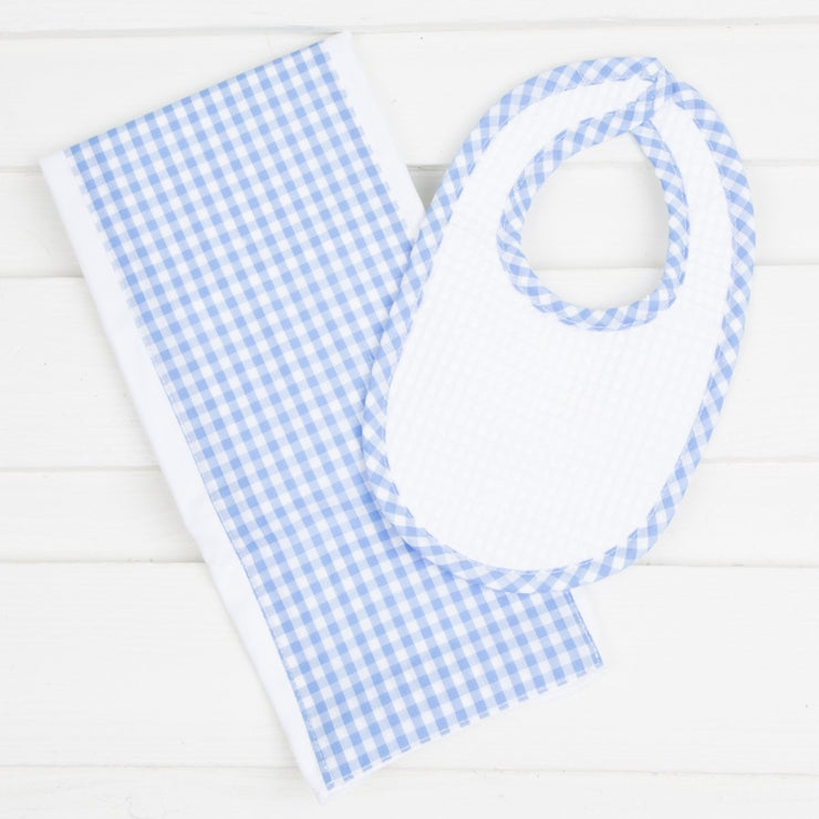 Drooler Bib and Burp Set