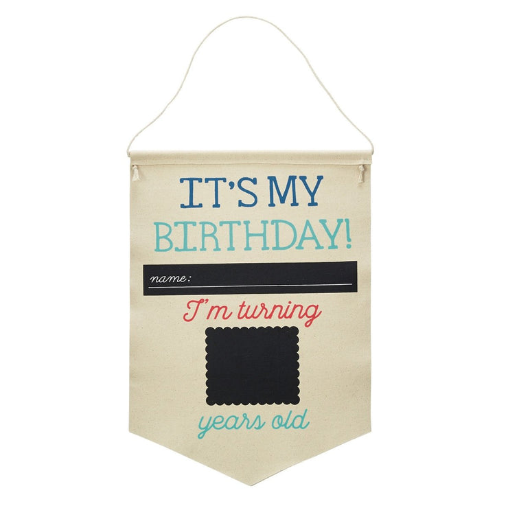 Birthday/School Canvas Banner