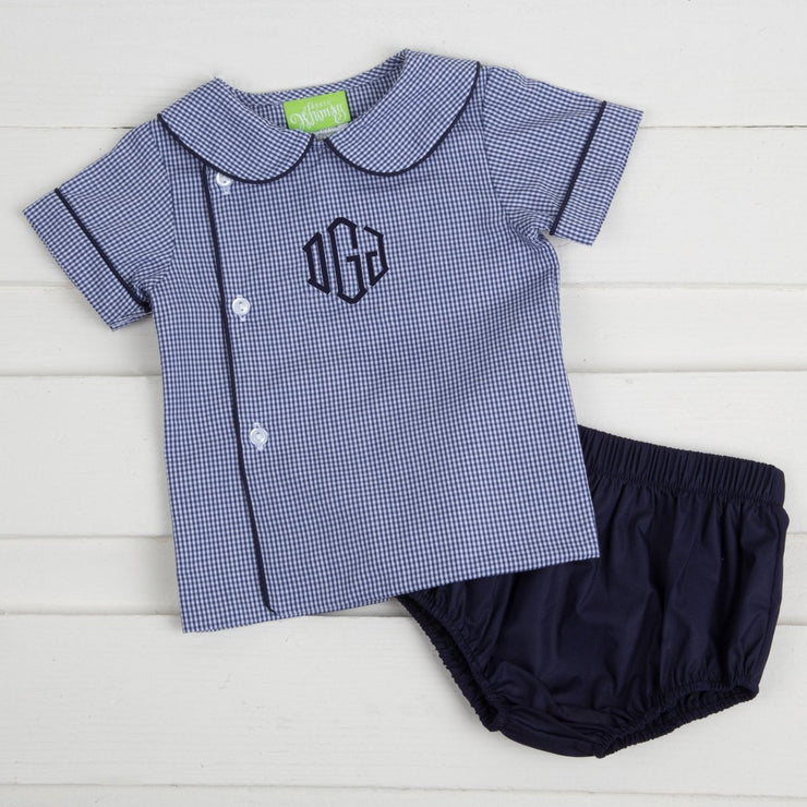 Boy Diaper Set Navy