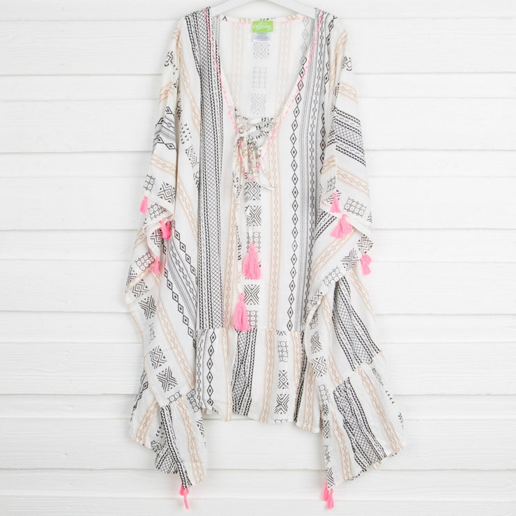 Boho Mom Tassel Cover Up